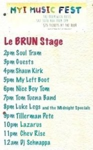 MYI Le Brun Stage